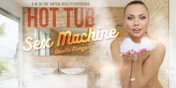 Hot Tub Sex Machine - Drilling Sexy Czech Brunette
