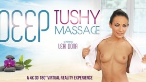 Deep Tushy Massage VRBangers Lexi Dona vr porn video vrporn.com virtual reality