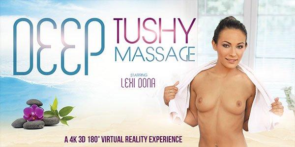 Deep Tushy Massage - Pounding Sexy Lexi Dona Porn VR
