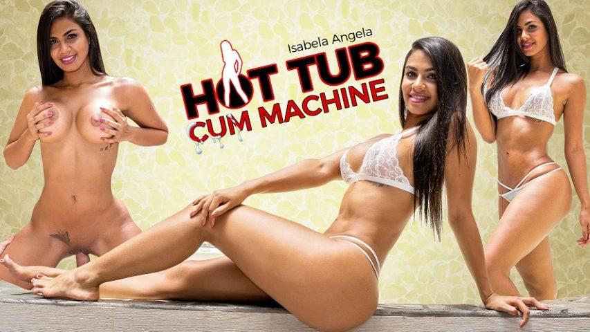Sperm hot tub tempature