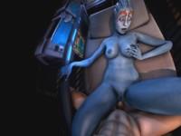Mass Effect - Samara's Into Anal darkdreams vr porn video vrporn.com virtual reality