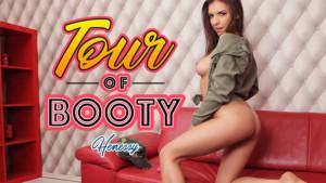 Tour Of Booty - Girlfriend Records VR Webcam Show for You BadoinkVR Henessy vr porn video vrporn.com