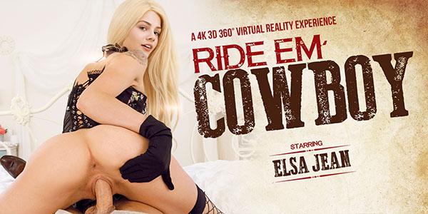 Ride 'Em Cowboy - Fucking Tight Teen Elsa Jean