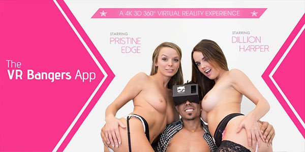 The VR Bangers App - Push a Button For Threesome