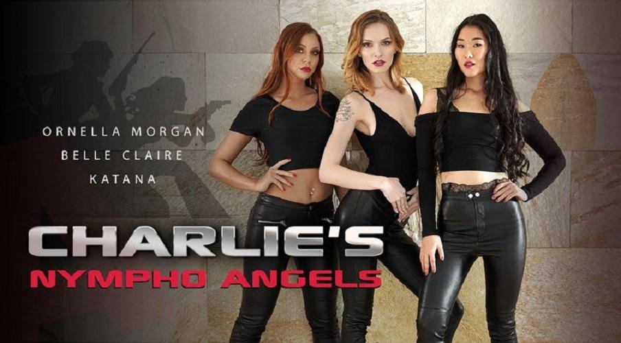 Charlie's Nympho Angels POV - Hardcore Interracial Orgy