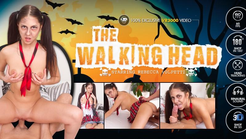 The Walking Head - Drilling Tight Italian Teen Rebecca Volpetti