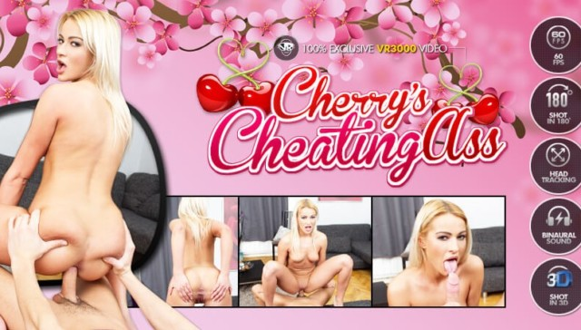 Cherry's Cheating Ass VR3000 Cherry Kiss vr porn video vrporn.com virtual reality