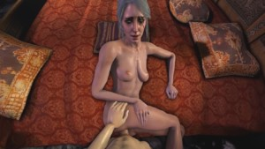 The Witcher - Ciri Can't Stop DarkDreams vr porn video vrporn.com virtual reality