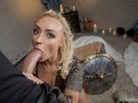 Vikings A XXX Parody VRCosplayX Amber Deen vr porn video vrporn.com virtual reality