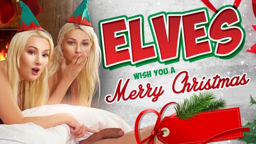 Elves Wish You A Merry Christmas