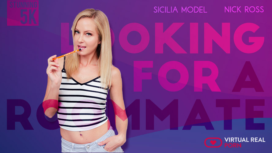 Looking For A Roommate - Tiny Blonde Gets Fucked
