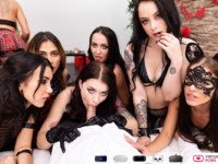 12 Girls Of Christmas VirtualRealPorn vr porn video vrporn.com virtual reality