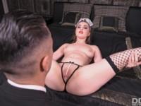 French Maid Fantasy DDFNetworkVR Lena Reif vr porn video vrporn.com virtual reality