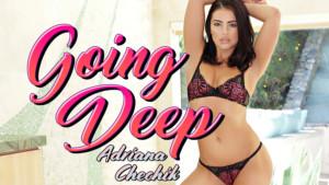 Going Deep BaDoikVR Adriana Chechik vr porn video vrporn.com virtual reality