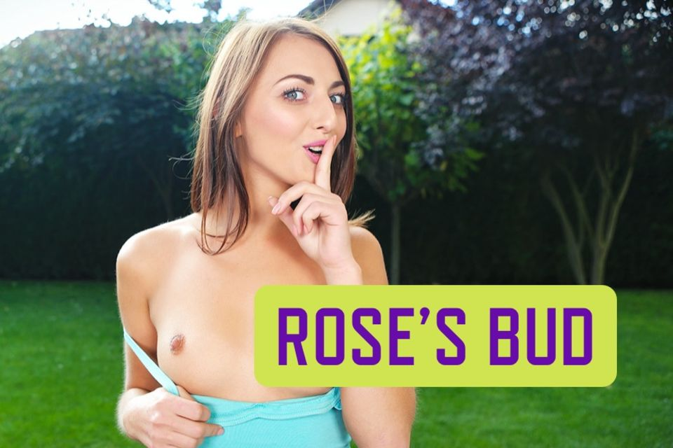 Rose's Bud - Fucking Smooth and Tight Teen Neighbor Anal Porn