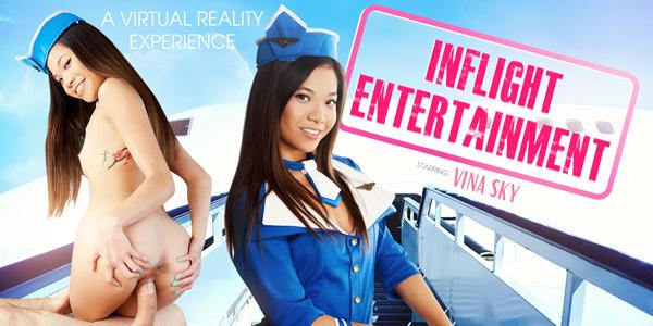 Inflight Entertainment - Sexy Stewardess