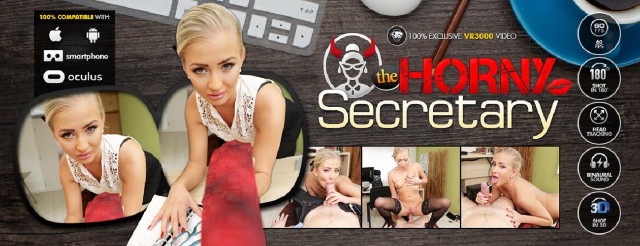 The Horny Secretary - Fucking Young Blonde Cayla Lyons