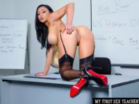 Audrey Bitoni Fucking In The Classroom With Her Tits NaughtyAmericaVR Audrey Bitoni, Ryan Mclane vr porn video vrporn.com virtual reality