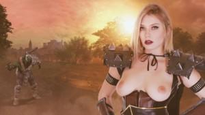 Death Knight Sex Slave WhorecraftVR Giselle Palmer vr porn video vrporn.com virtual reality