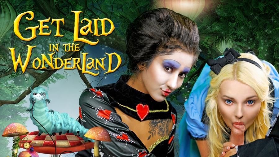 Get Laid In The Wonderland - Sexy Alice Cosplay