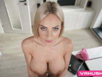 Put Down Your Work For A Second VRHush Nathaly Cherie vr porn video vrporn.com virtual reality