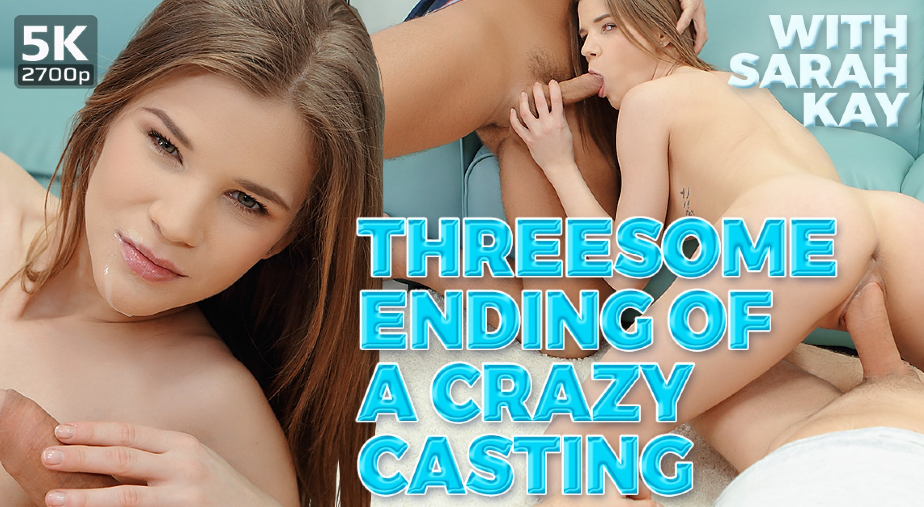 Threesome Ending Of A Crazy Casting