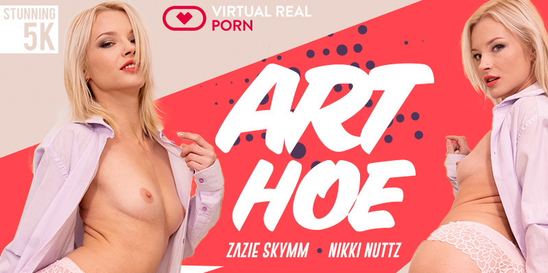 Who Would Have Thought That Art Could Be So Hot virtualrealporn vr porn blog virtual reality