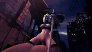 Nier: Automata - 2B Recharging on Top DarkDreams vr porn video vrporn.com virtual reality
