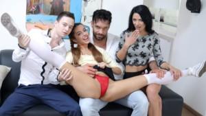 Family Sins Here, There, Everywhere VirtualTaboo Shalina Devine Vanna Bardot vr porn video vrporn.com virtual reality