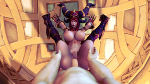 World of Warcraft - Sparks Fly with the Dragonqueen DarkDreams vr porn video vrporn.com virtual reality