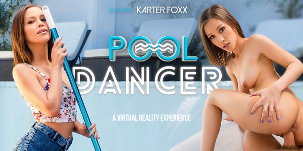Pool Dancer - Bathing Brunette