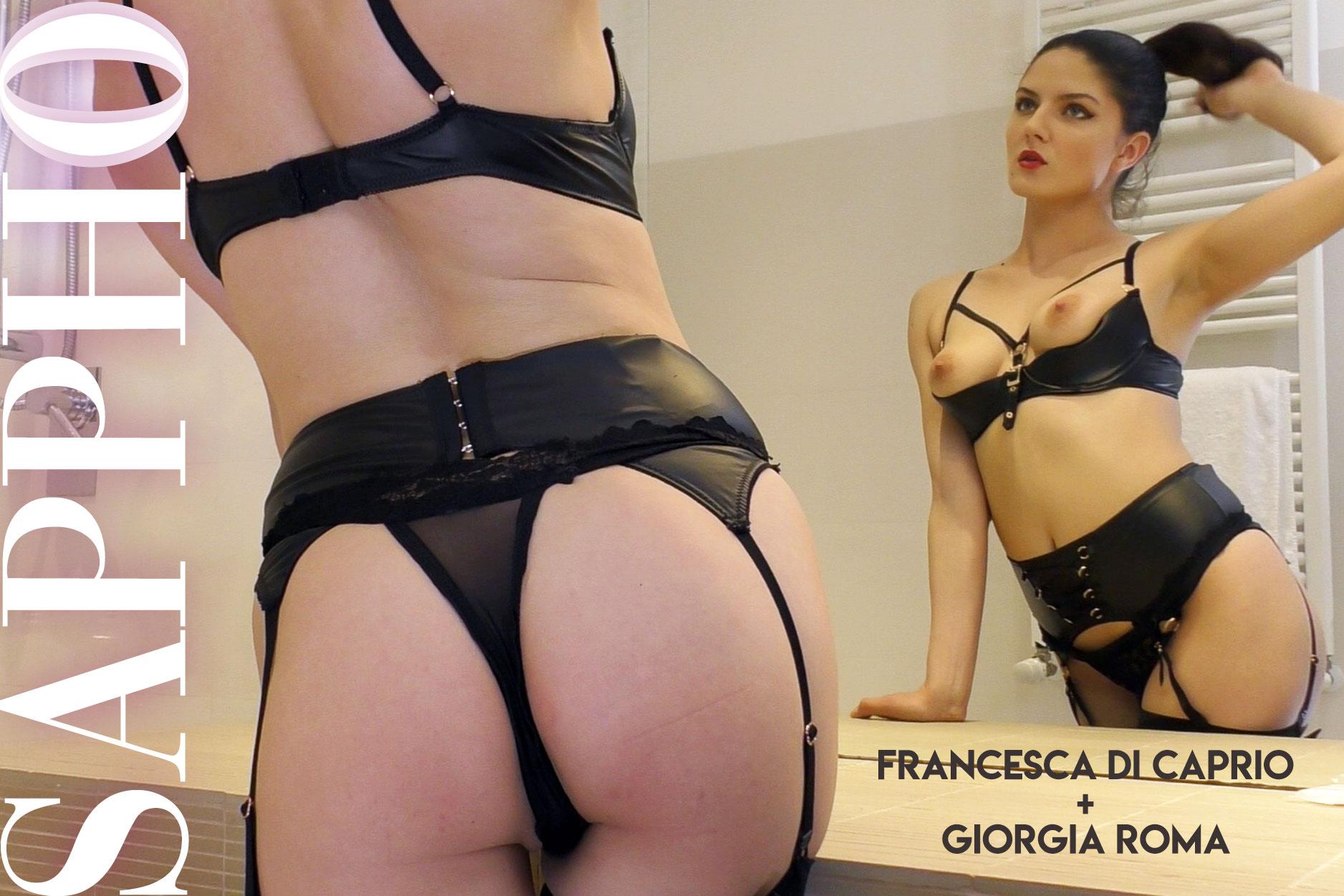 Francesca And Giorgia - Horny Brunette Pussy