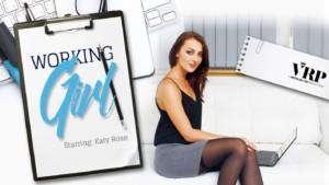 Working Girl VRPFilms Katy Rose vr porn video vrporn.com virtual reality