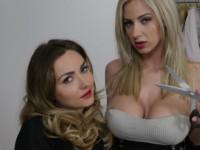 Shredders StockingsVR Victoria Puppy Nathaly Cherie vr porn video vrporn.com virtual reality