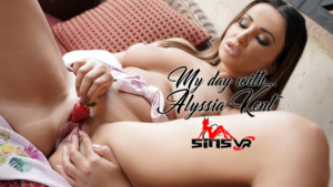 My Day With Alyssia Kent SinsVR Alyssia Kent vr porn video vrporn.com virtual reality