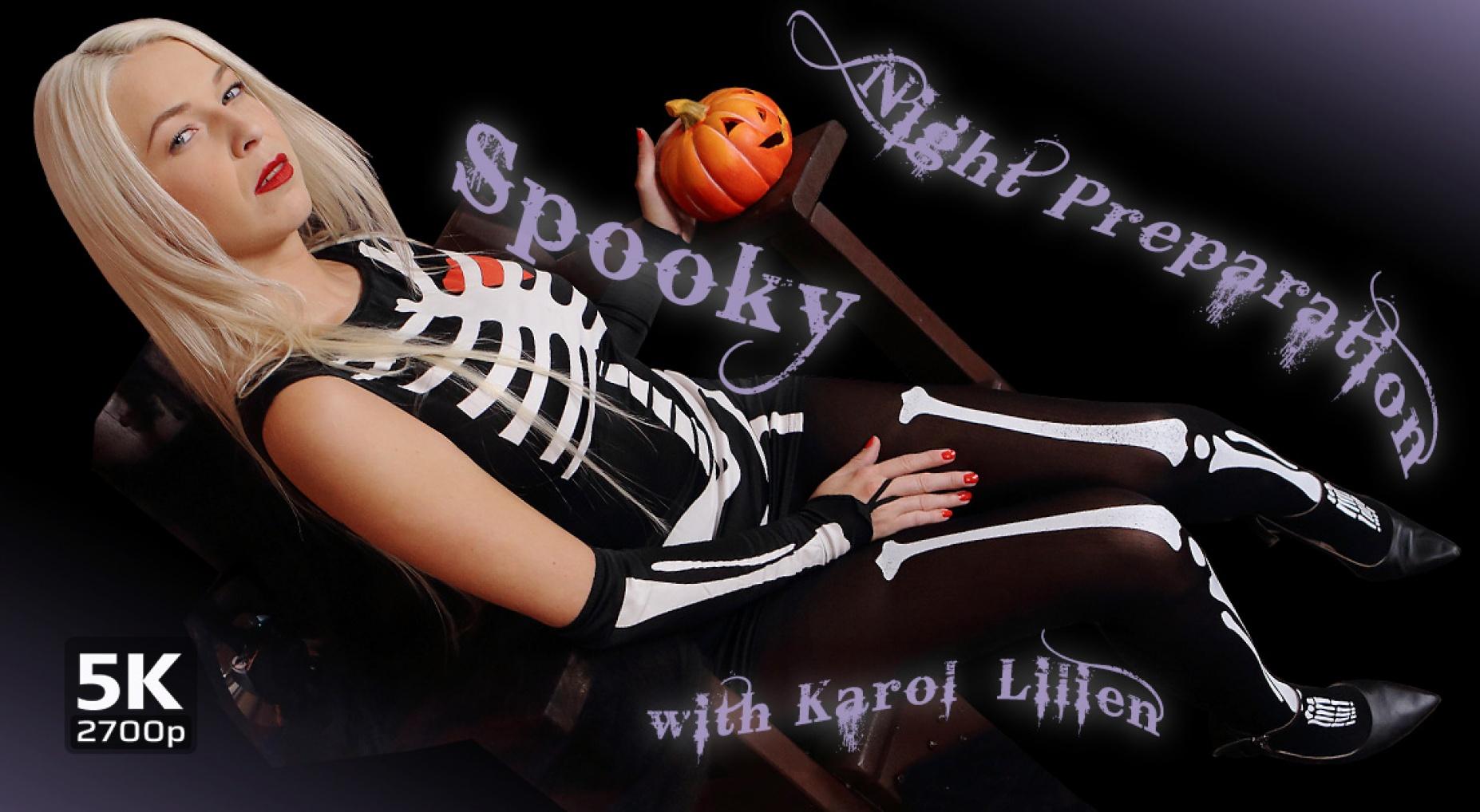 Spooky Night Preparation - Pumpkin Masturbation