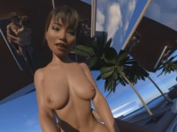 Mirrors By The Pool (CGI Ray-Traced Hentai Cowgirl POV) SkinRays vr porn video vrporn.com virtual reality