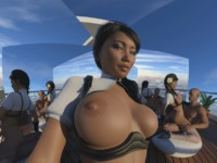 Patio Grind With Mirrors (CGI Ray-traced POV Cowgirl) SkinRays vr porn video vrporn.com virtual reality
