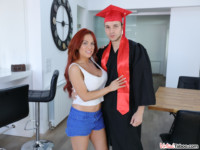 School Graduation Leads To Step Sister's Penetration VirtualTaboo Jennifer Keelings vr porn video vrporn.com virtual reality