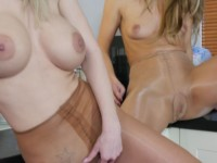 Panty Hosed StockingsVR Victoria Puppy Nathaly Cherie vr porn video vrporn.com virtual reality