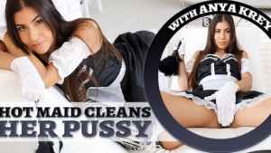 Hot Maid Cleans Her Pussy TmwVRnet Anya Krey vr porn video vrporn.com virtual reality