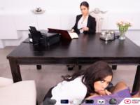Wrongful Dismissal VirtualRealPorn Aaliyah Hadid Alina Lopez vr porn video vrporn.com virtual reality