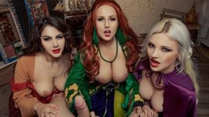 Hocus Pocus A XXX Parody VRCosplayX Angel Wicky Valentina Nappi Zazie Skymm vr porn video vrporn.com virtual reality
