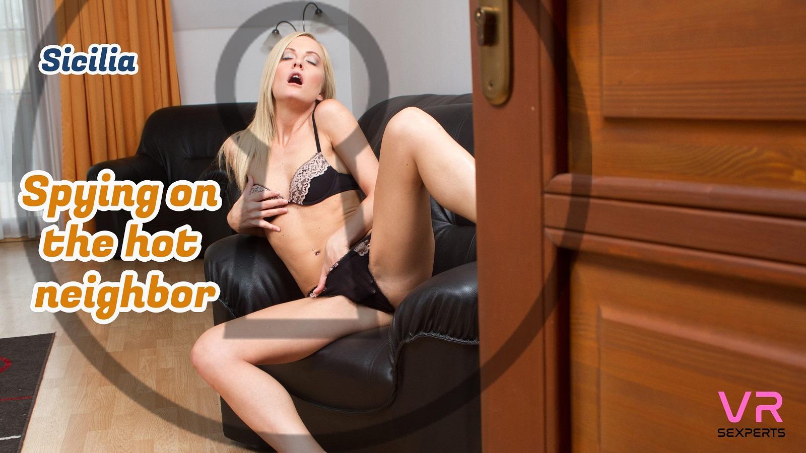 Spying On Hot Neighbor
