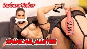 Spank Me Master VRSexperts Barbara Bieber vr porn video vrporn.com virtual reality
