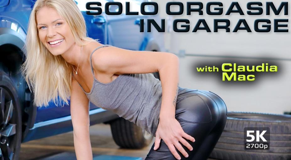 Solo Orgasm In Garage