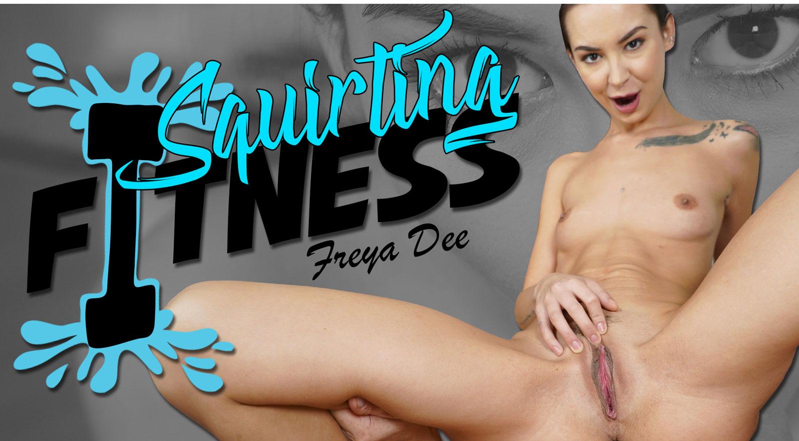 Squirting Fitness Freya Dee