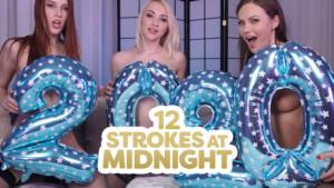 12 Strokes At Midnight 18VR Charlie Red Tina Kay Marilyn Sugar vr porn video vrporn.com virtual reality