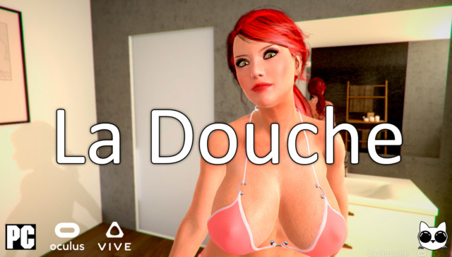 La Douche Beta 12 ZnelArts cgi girl vr porn game vrporn.com virtual reality