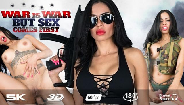 Sergeant Canela RealJamVR Canela Skin vr porn video vrporn.com virtual reality